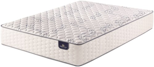 Serta PS Fairhill Firm King Firm Pocketed Coil Mattress and MC II Divided King Adjustable Foundation