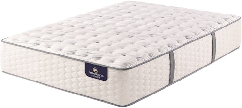 Serta PS Gannon Extra Firm Twin Extra Long Extra Firm Premium Pocketed Coil Mattress and Motion Essentials III Adjustable Base