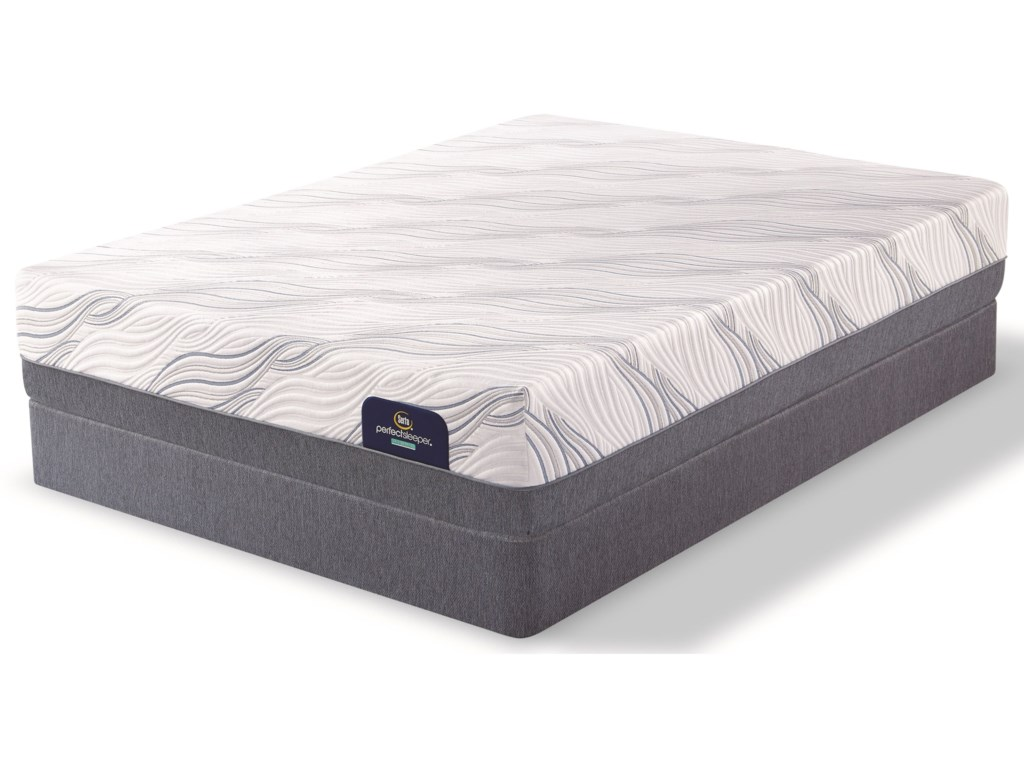 Serta PS Hybrid Highridge FirmQueen Firm Hybrid Mattress Set