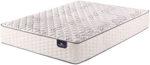 Serta PS Kleinmon Firm King Firm Pocketed Coil Mattress and MP III Divided King Adjustable Foundation