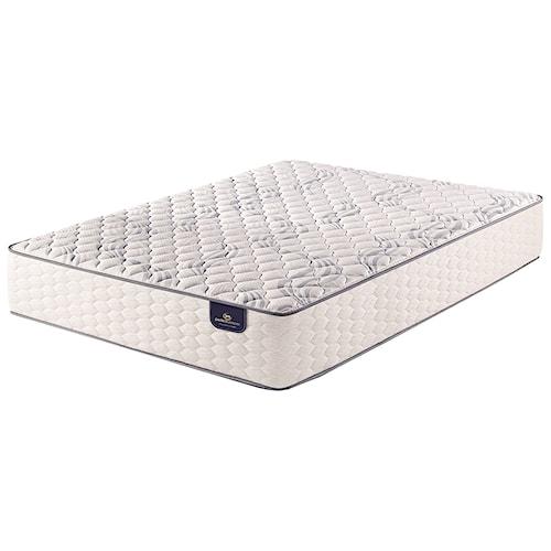 Serta PS Kleinmon Firm Queen Firm Pocketed Coil Mattress and Motion Essentials III Adjustable Base