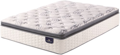 Serta PS Kleinmon SPT Queen Super Pillow Top Pocketed Coil Mattress