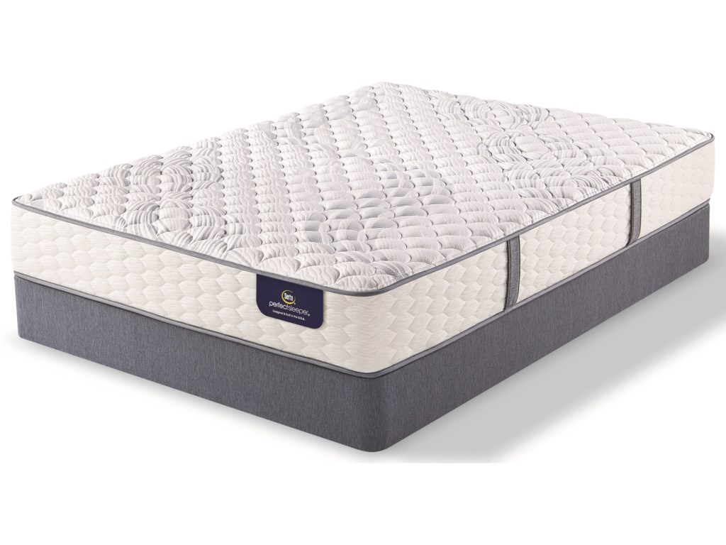 Serta AnnapolisTwin XL Firm Pocketed Coil Mattress Set, LP