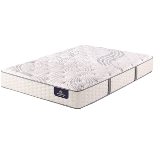 Serta PS Linden Pond Lux Firm King Luxury Firm Premium Pocketed Coil Mattress