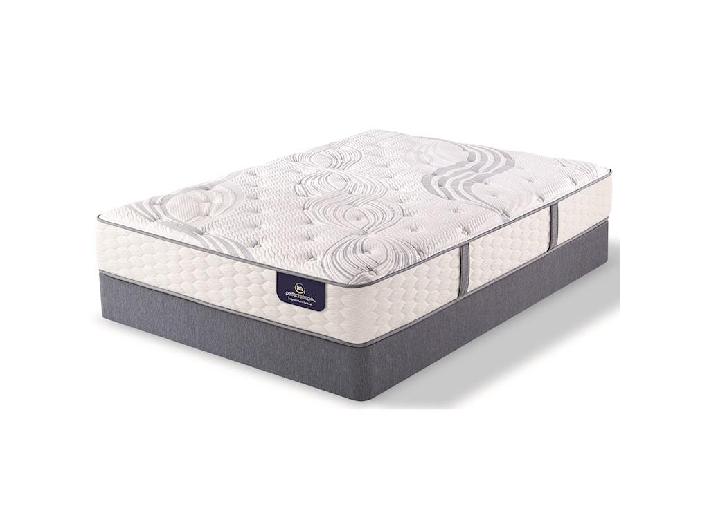 Serta AnnapolisFull Plush Pocketed Coil Mattress Set, LP