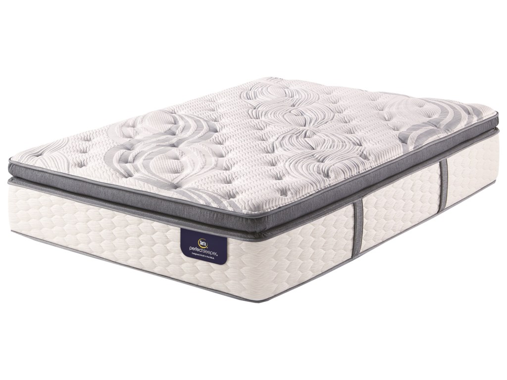 Serta AnnapolisQueen Super PT Pocketed Coil Mattress