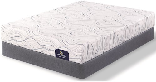 Serta Perfect Sleeper Merriam Luxury Firm Twin Mattress and Foundation