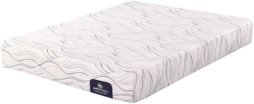 Serta Perfect Sleeper Merriam Luxury Firm Queen Mattress and Motion Perfect III Adjustable Base