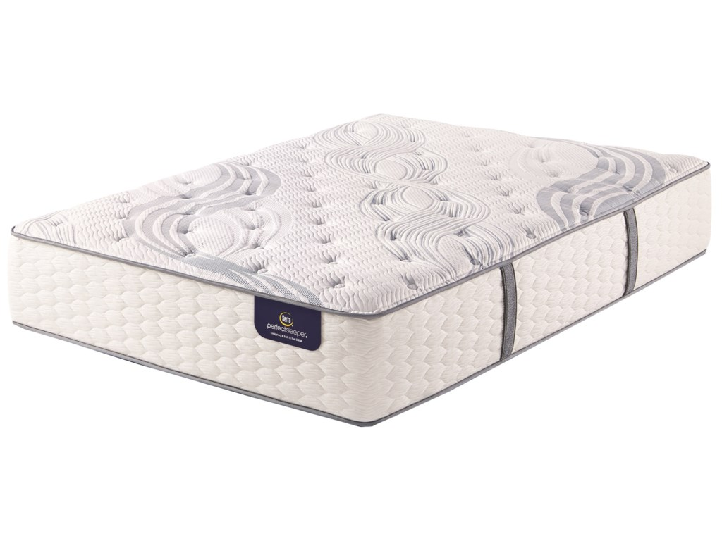 Serta PS Sandmist Plush Queen Pocketed Coil Mattress