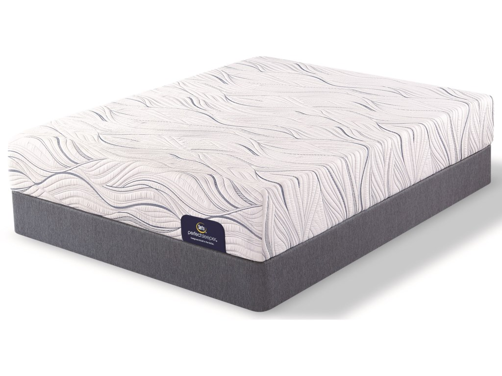 Serta Perfect Sleeper SomervilleTwin XL Firm Gel Memory Foam LP Set
