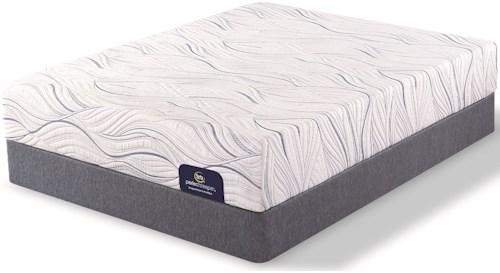 Serta Perfect Sleeper Southpoint Firm Twin Mattress and Low Profile Foundation