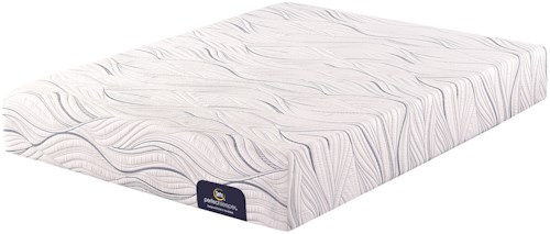 Serta Perfect Sleeper Southpoint Firm Cal King Mattress and Motion Custom II Adjustable Base