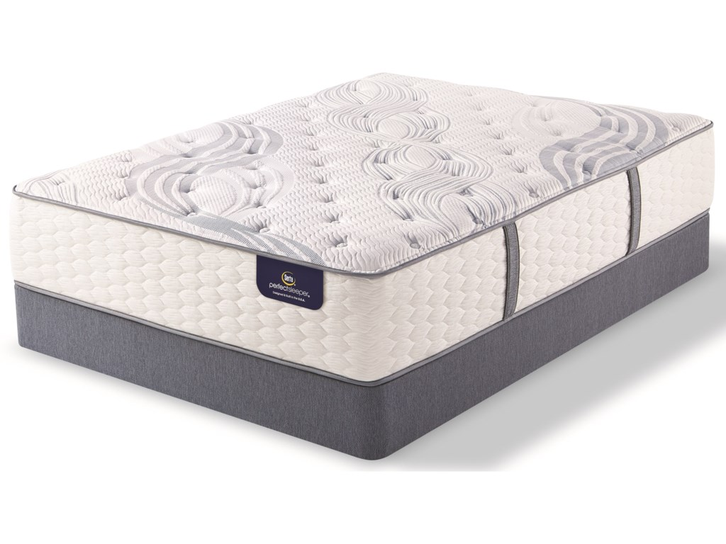 Serta PS Standale PlushQueen Plush Premium Pocketed Coil LP Set