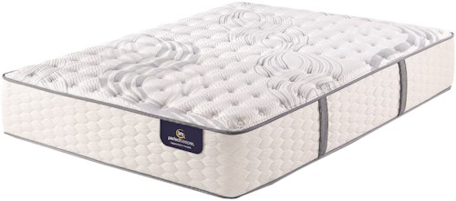 Serta PS Trelleburg Luxury Firm Queen Luxury Firm Premium Pocketed Coil Mattress and MP III Adjustable Foundation