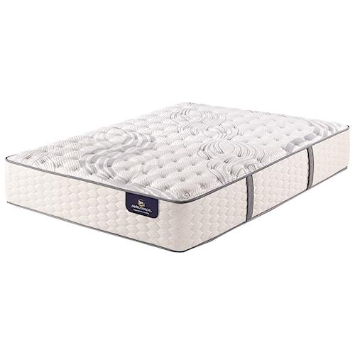 Serta PS Trelleburg Luxury Firm Queen Luxury Firm Premium Pocketed Coil Mattress and MP III Adjustable Foundation