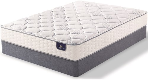 Serta PS Wesbourough Plush Twin Extra Long Plush Innerspring Mattress and 5