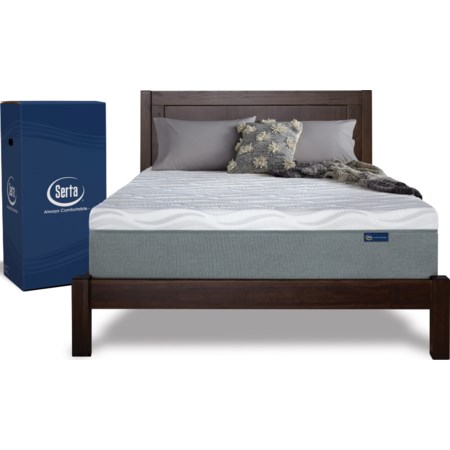 King Gel Memory Foam Mattress in a Box