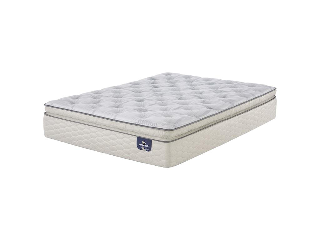 Serta CartersonFull Firm Super Pillow Top Mattress