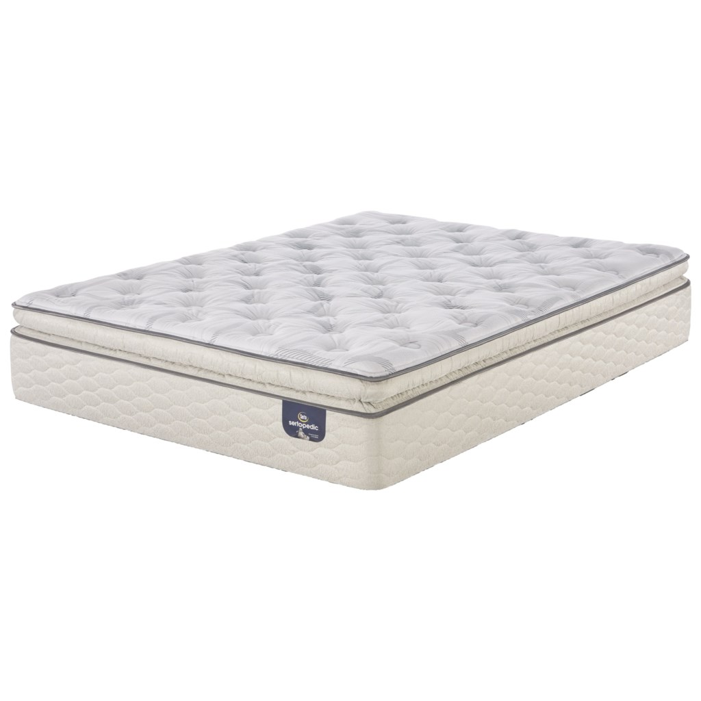 serta alverson super pillow top plush queen plush super pillow top