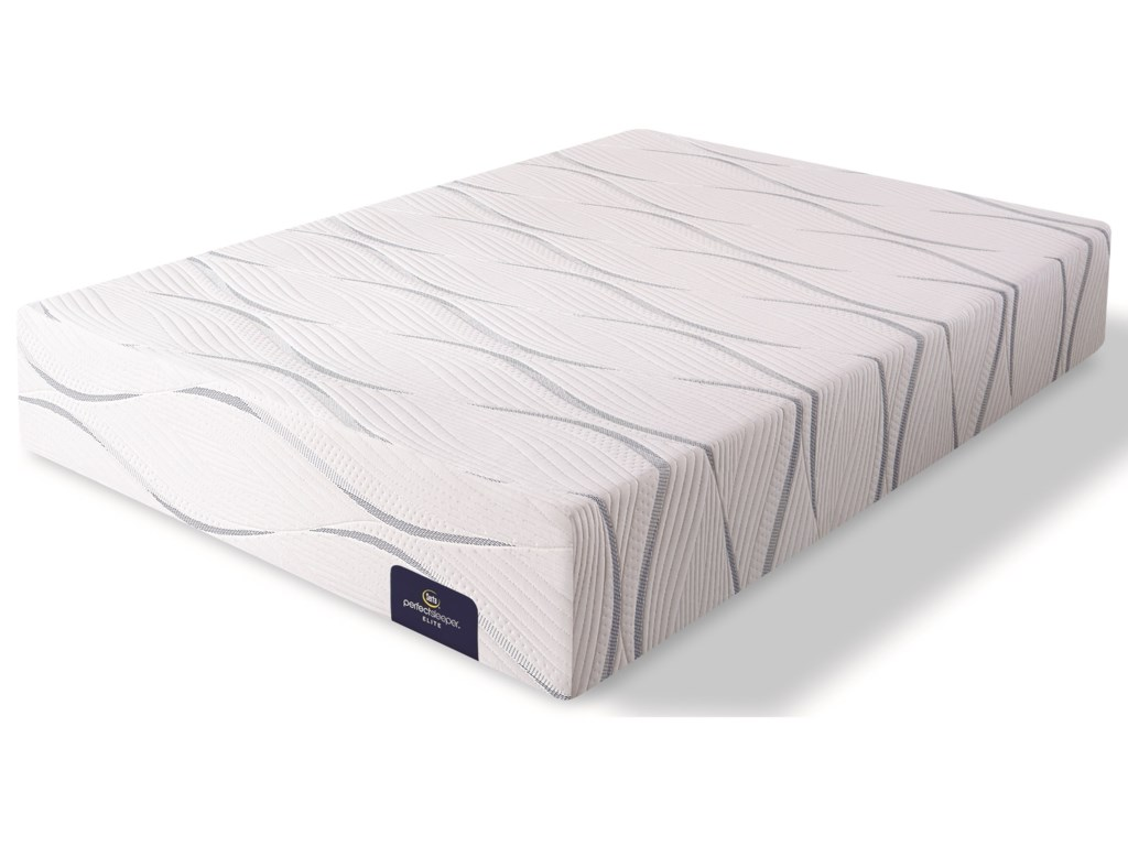 Serta Southpoint II PlushCal King Gel Memory Foam Mattress