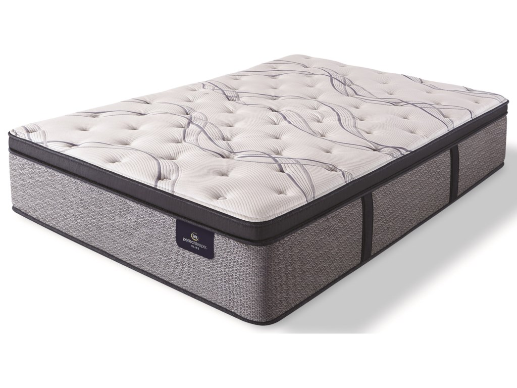 Serta Trelleburg II Plush EPTTwin XL Pocketed Coil Mattress