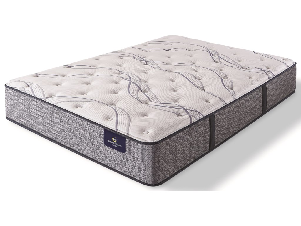 Serta Trelleburg II PlushQueen Pocketed Coil Mattress