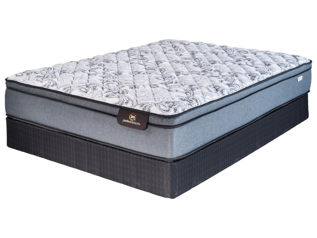 Serta Canada Branden Gate Euro Top PlushTwin Euro Top Plush Mattress Set