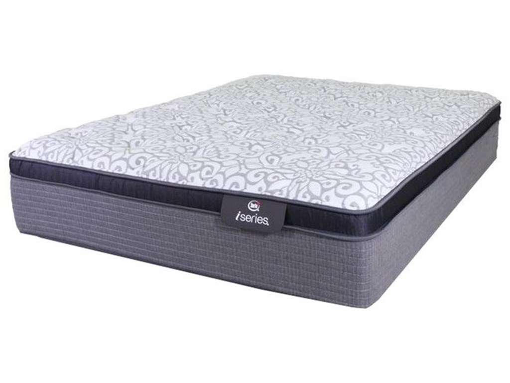 Serta Canada iSeries Clairmont Plush ETKing Plush Euro Top Hybrid Mattress