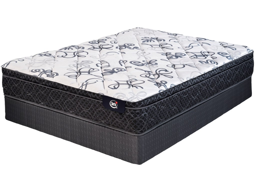Serta Canada Mardi Gras Special PurchaseQueen Special Purchase Euro Top Mattress Set