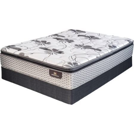 Queen Pillow Top Firm Mattress Set