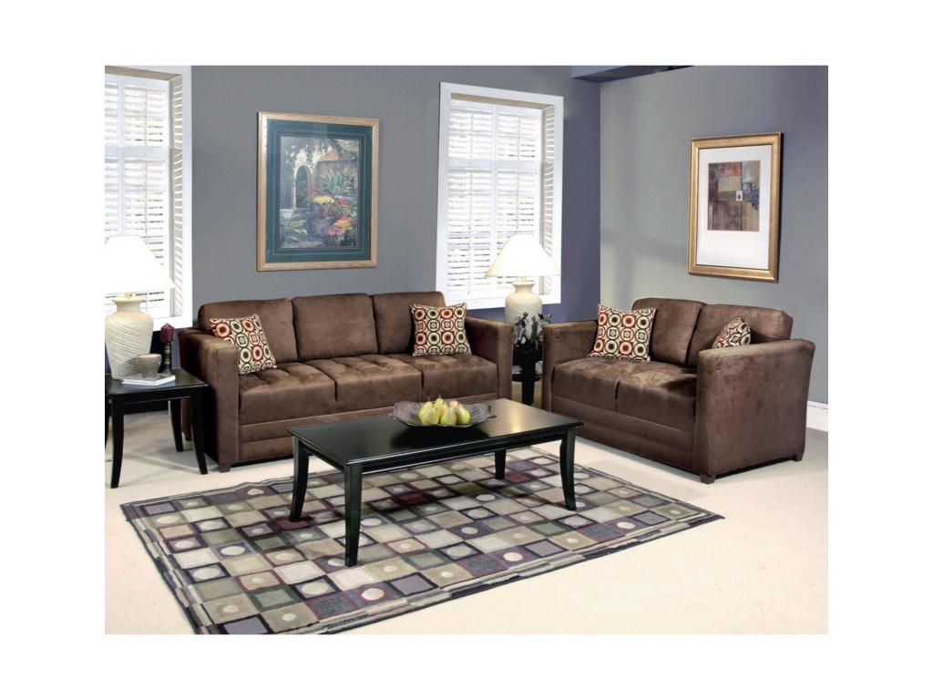 Hughes Furniture 1085Loveseat