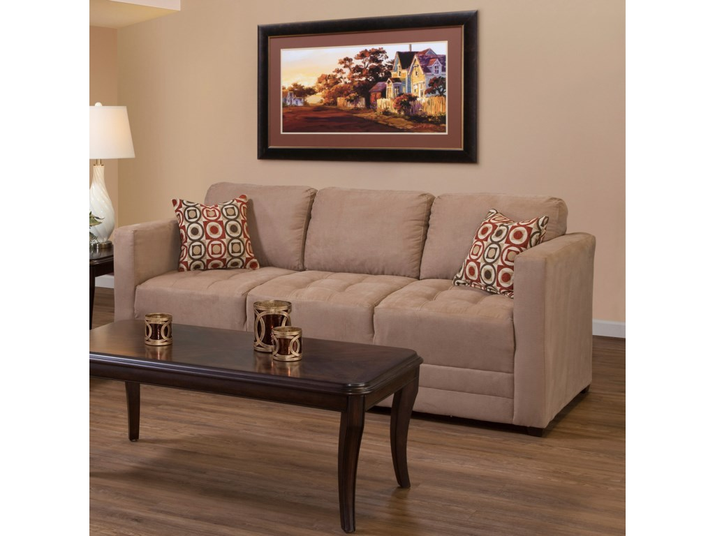 Hughes Furniture 1085Sofa