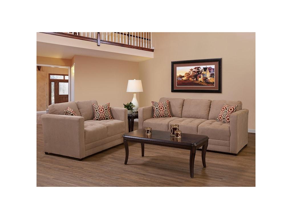 Serta Upholstery by Hughes Furniture 1085Sofa