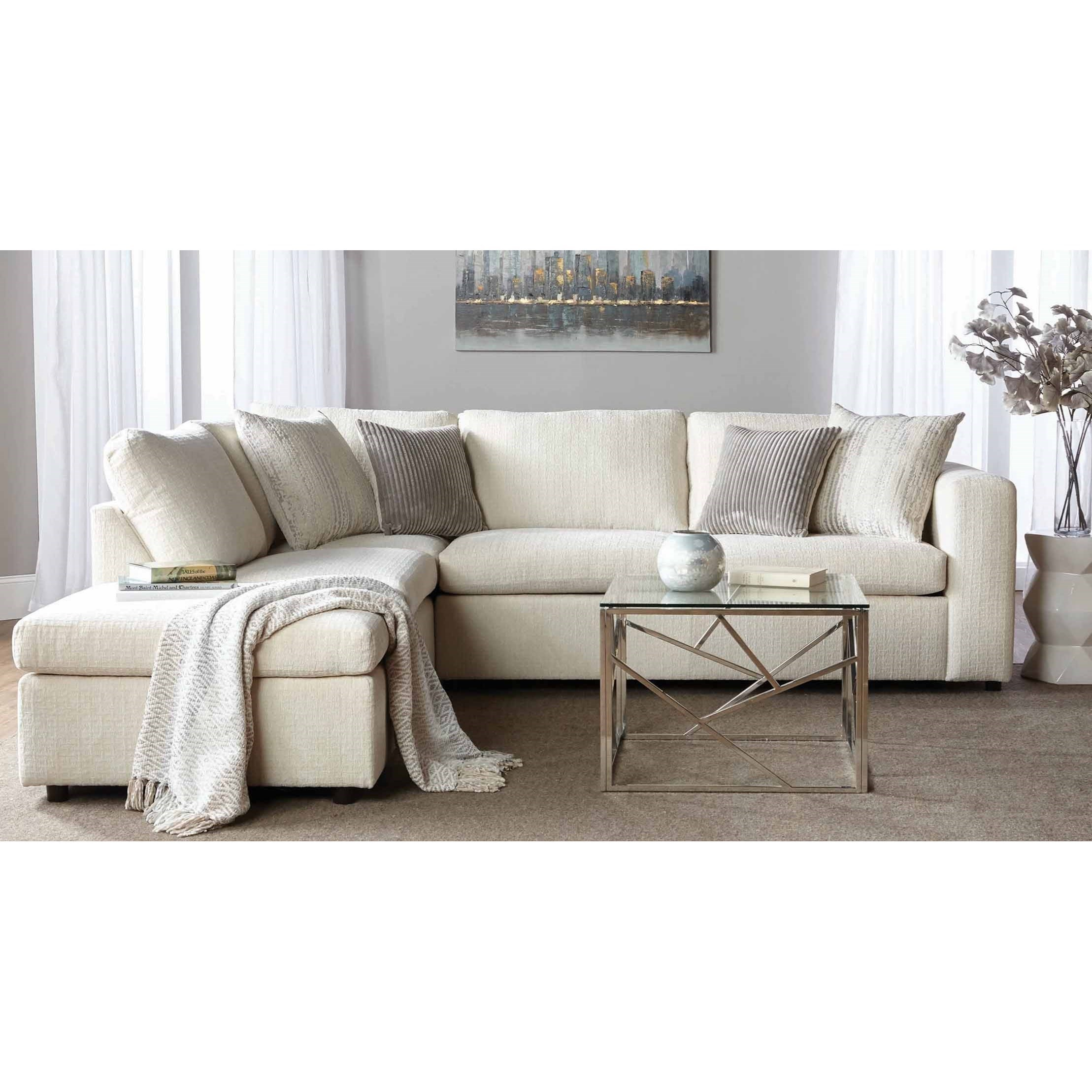Delicieux Serta Upholstery By Hughes Furniture 1100Sectional Sofa With Chaise