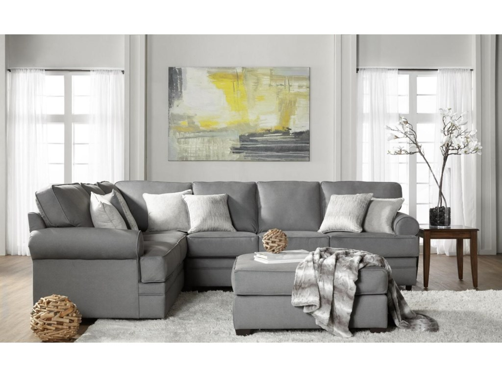 Serta Upholstery Clapton2PC Sectional Sofa