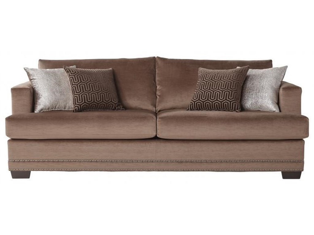 13325 deco modern 2 seater sofa by serta upholstery