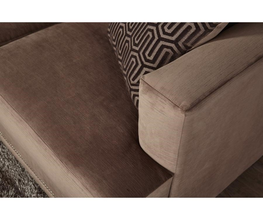 Serta Upholstery by Hughes Furniture 13325Deco-Modern Sofa