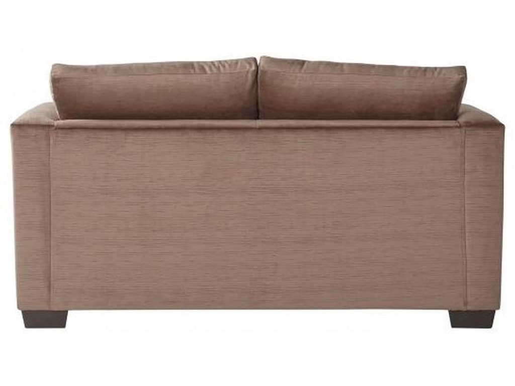 Serta Upholstery by Hughes Furniture 13325Deco-Modern Loveseat