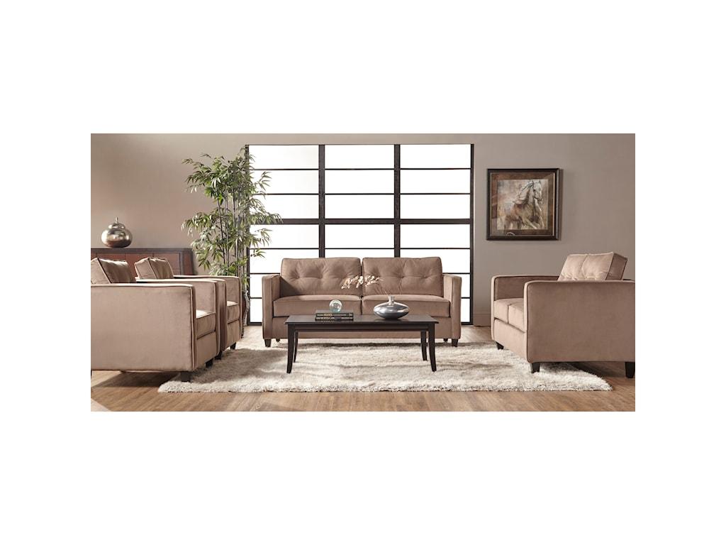 Serta Upholstery 1365Stationary Living Room Group