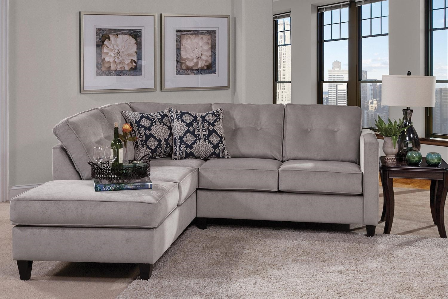 Serta Upholstery Mali Contemporary Sectional with Chaise Lounge  sc 1 st  Rotmans : rotmans sectionals - Sectionals, Sofas & Couches