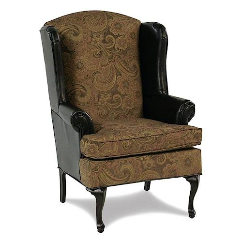 Serta Upholstery Monaco Upholstered Wing Chair