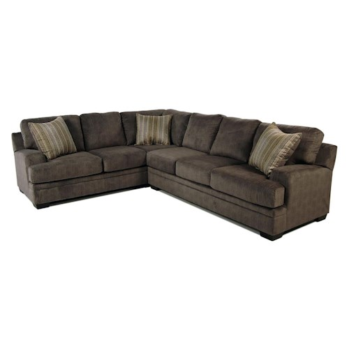 Serta Upholstery Grayson 2-Piece Sectional
