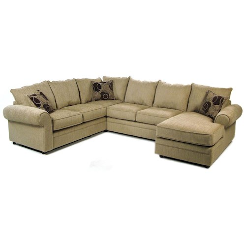 Serta Upholstery Ridgeford 3 Piece Sectional