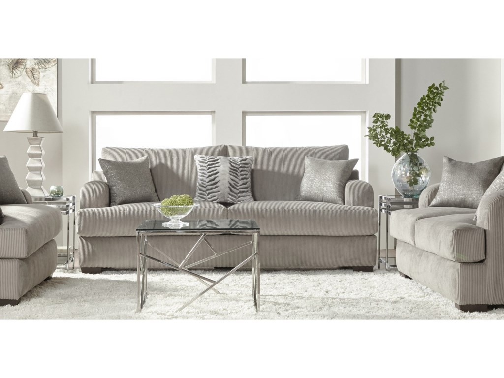 Serta Upholstery 14100Stationary Living Room Group