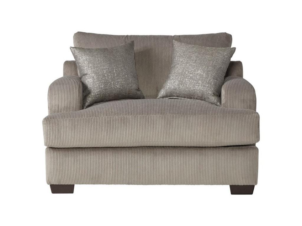 Hughes Furniture 14100Cuddle Chair