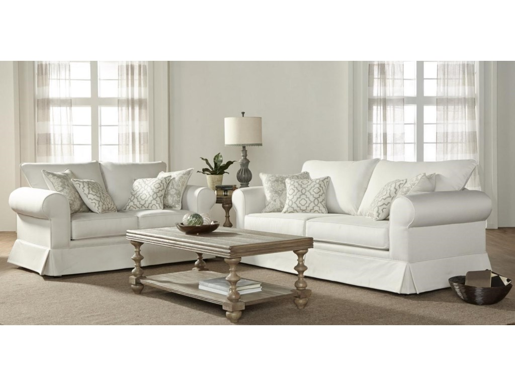 Serta Upholstery by Hughes Furniture 1620016200 Living Room Group