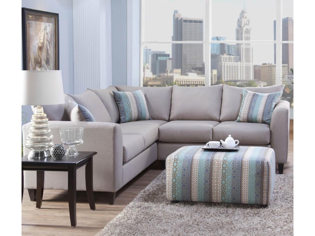 Serta Upholstery by Hughes Furniture 2100Sectional