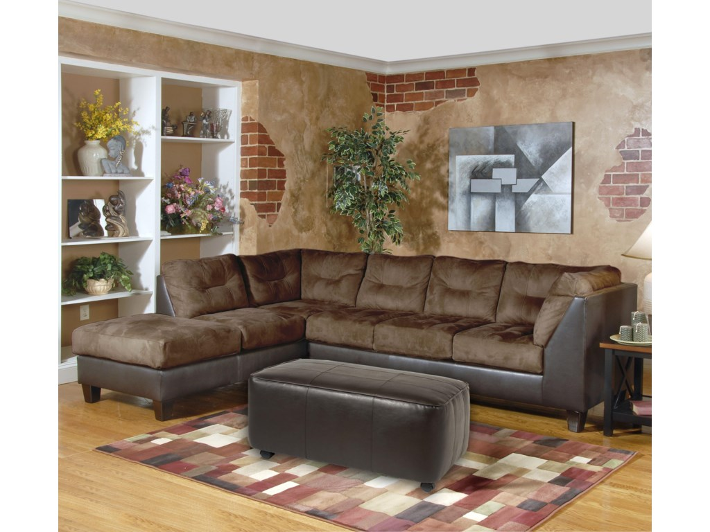 Serta Upholstery by Hughes Furniture 2550 SeriesSectional Sofa