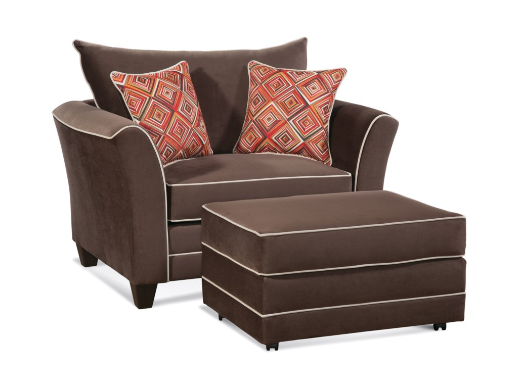 Serta Upholstery by Hughes Furniture 2650Cuddle Chair