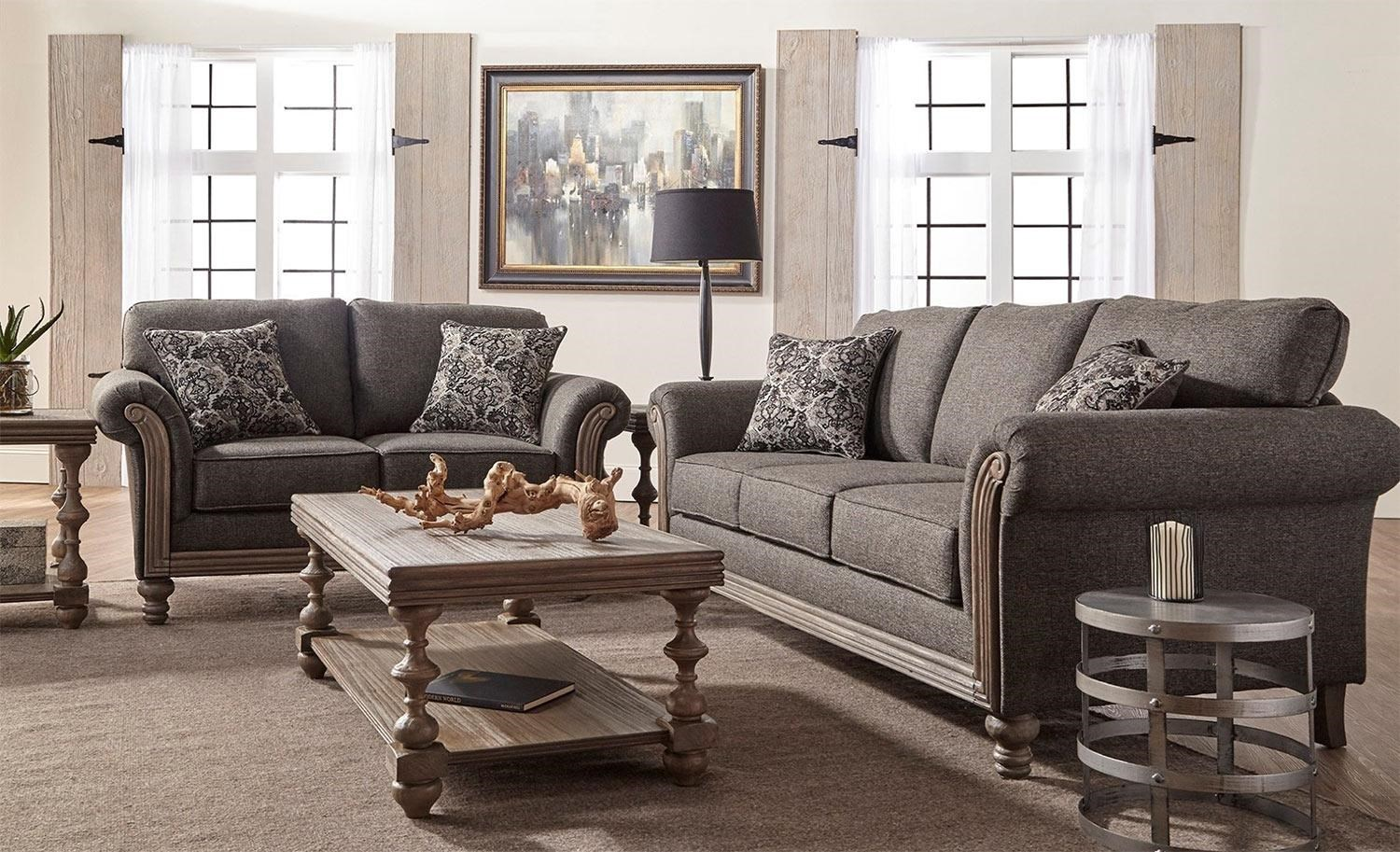Serta Upholstery Belmont 2PC Sofa U0026 Loveseat Set